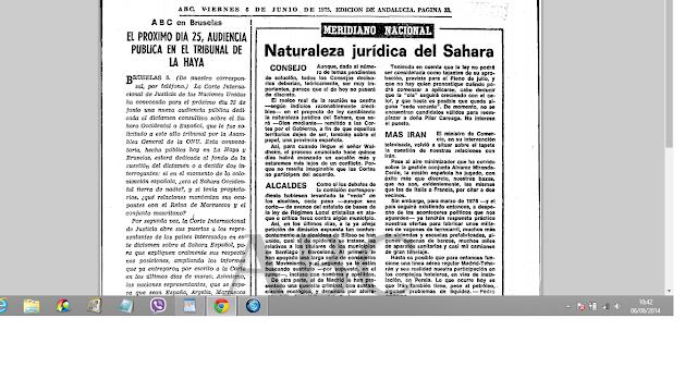 Historia : Cuando España decidió que el Sáhara ya no era provincia española