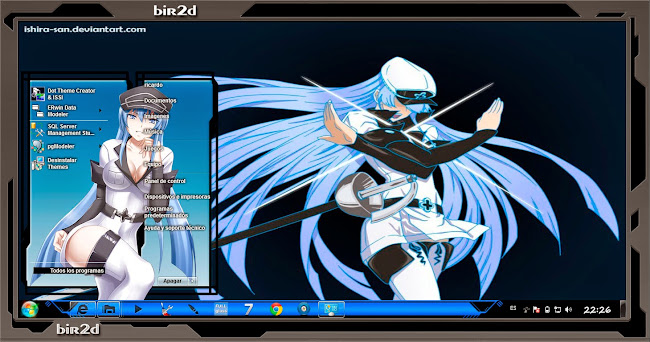 Esdese / Esdeath / Akame Ga Kill [Windows7] 1
