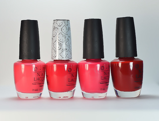OPI 5 Apples Tall Comparison