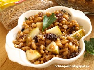 Obilno-ovocný šalát - recepty