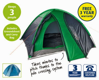 Review Aldi Camping Range The Test Pit