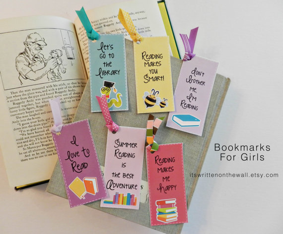 Summer Reading Bookmarks-Reading is Fun Now