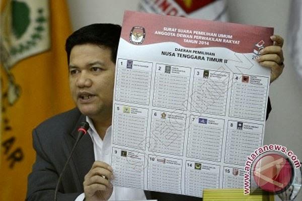 tidak ada foto caleg dalam surat suara