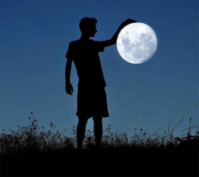 Jugando con la luna 14