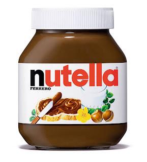 Etiquette pour Pot de Nutella à personnaliser à votre nom GRATUIT