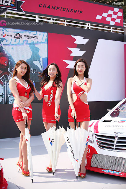 3 Yee Ah Rin - CJ SuperRace 2013  - very cute asian girl - girlcute4u.blogspot.com