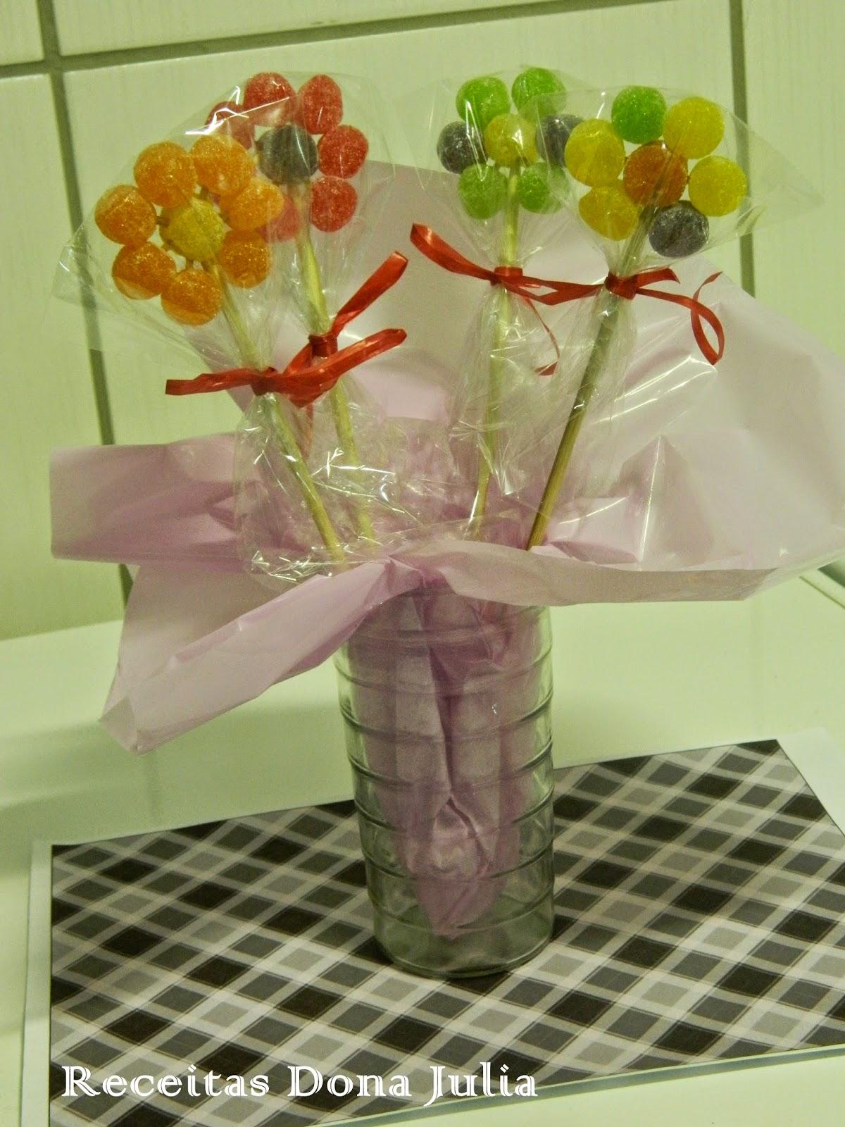 Flor de jujuba ou bala de goma