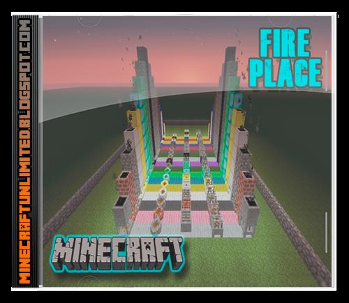 Fire Place Mod Minecraft