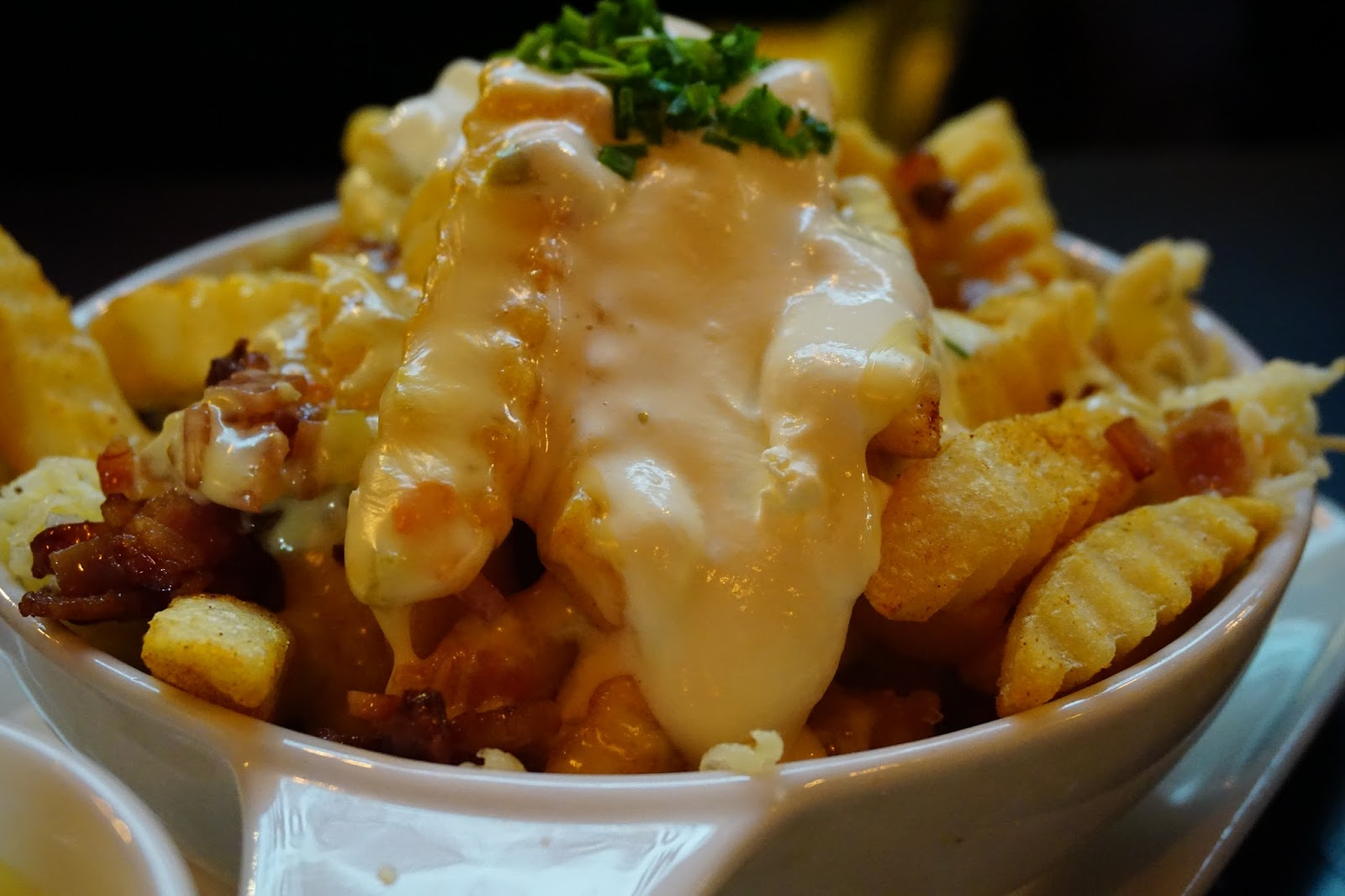 Cheese fries at The Curious Squire, North Adelaide