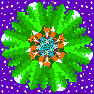 Fox Mandala