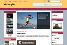 Gelosophy Blogger Template