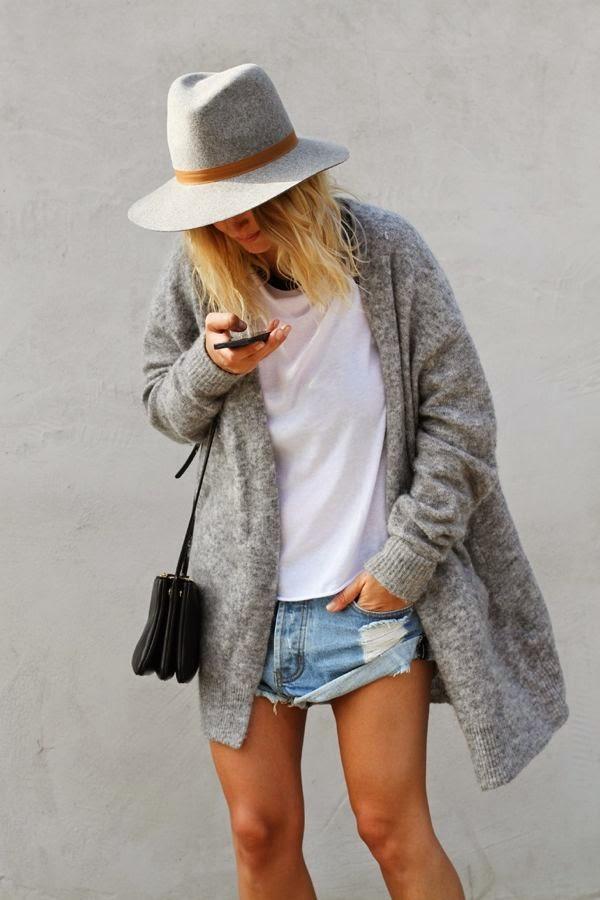 Long Coat- One Teaspoon Bandit Shorts-Golden Divine Blog