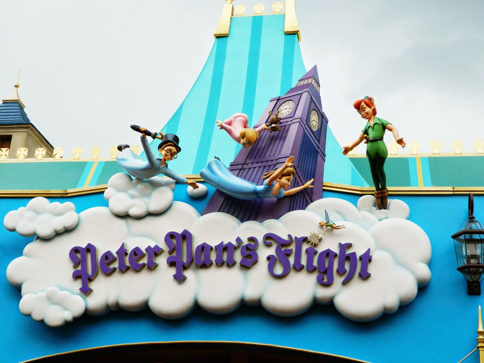 peter pans flight sign type