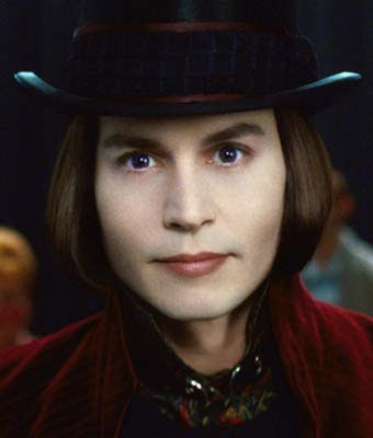 Jhonny Depp Willy Wonka