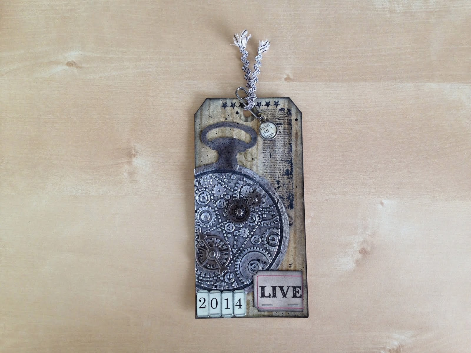 Tim Holtz 2014 Tags