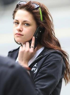 Kristen Stewart senza trucco