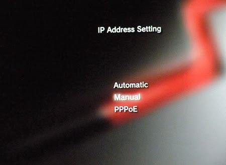 Konsola PS3 - ustawienia adresu IP