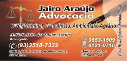 Adv. Jairo Araújo