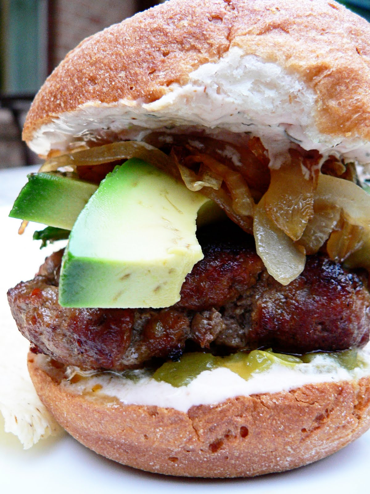 Dance While You Cook: New Mexican Chorizo Burgers