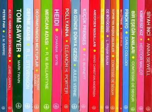 T.İ.B.Yayınları | İŞ ÇOCUK KLASİKLERİ {Karton Kapaklı: 46 Kitap | *3 lira} [Ciltli: 29 Kitap]