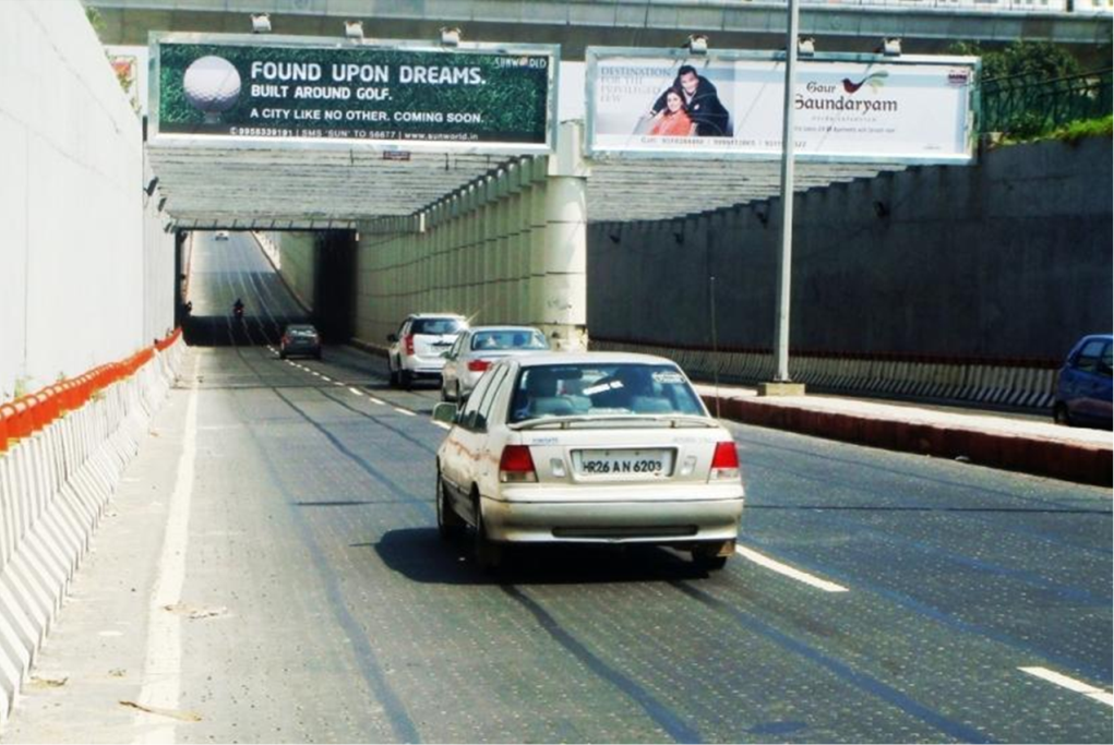 Rajnigandha Underpass opened to Public on Independence Day