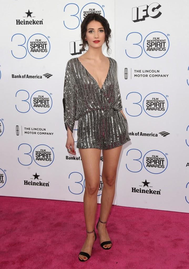 Actress, Performance artist: Sheila Vand - 2015 Film Independent Spirit Awards in Santa Monica