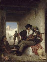 Ciganos tocando rumba.