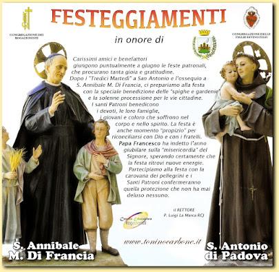 Festeggiamenti di S. Annibale e S. Antonio di P.