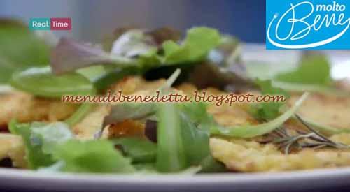 Cotolette impanate nella frutta secca ricetta Parodi per Molto Bene