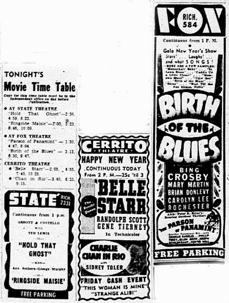 Lost Movie Theatres of Richmond California