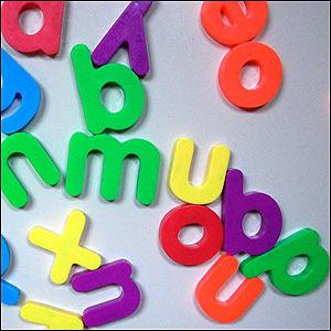 letras que siguen cursor