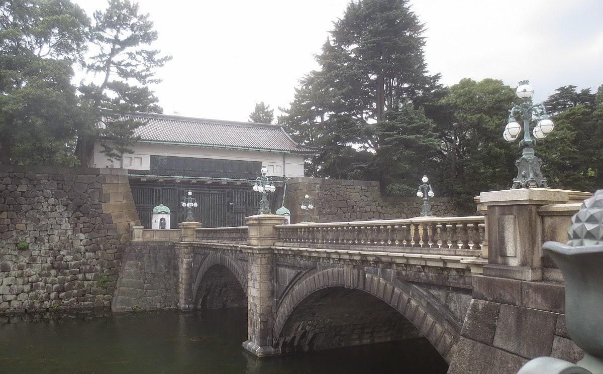 Tokio - Brücke zum Kaiserpalast