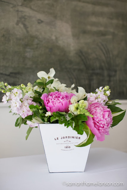 pink peonies, dogwood, apple blossom stock : les fleurs : fruitlands museum : samatha melanson photography