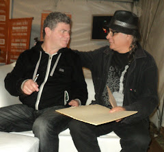 Con Gustavo Santaolalla en La Plata
