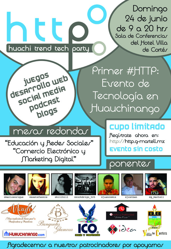 Huachi Trend Tech Party 2012. Evento Tecnológico en Huauchinango