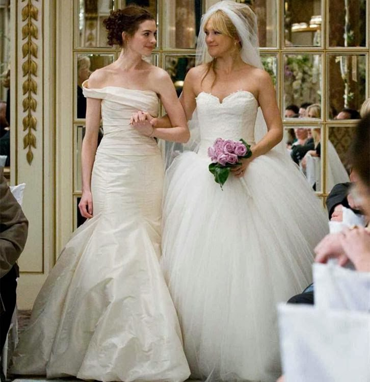 "Kate Hudson\'s Vera Wang Wedding Dress in ""Bride Wars"" 