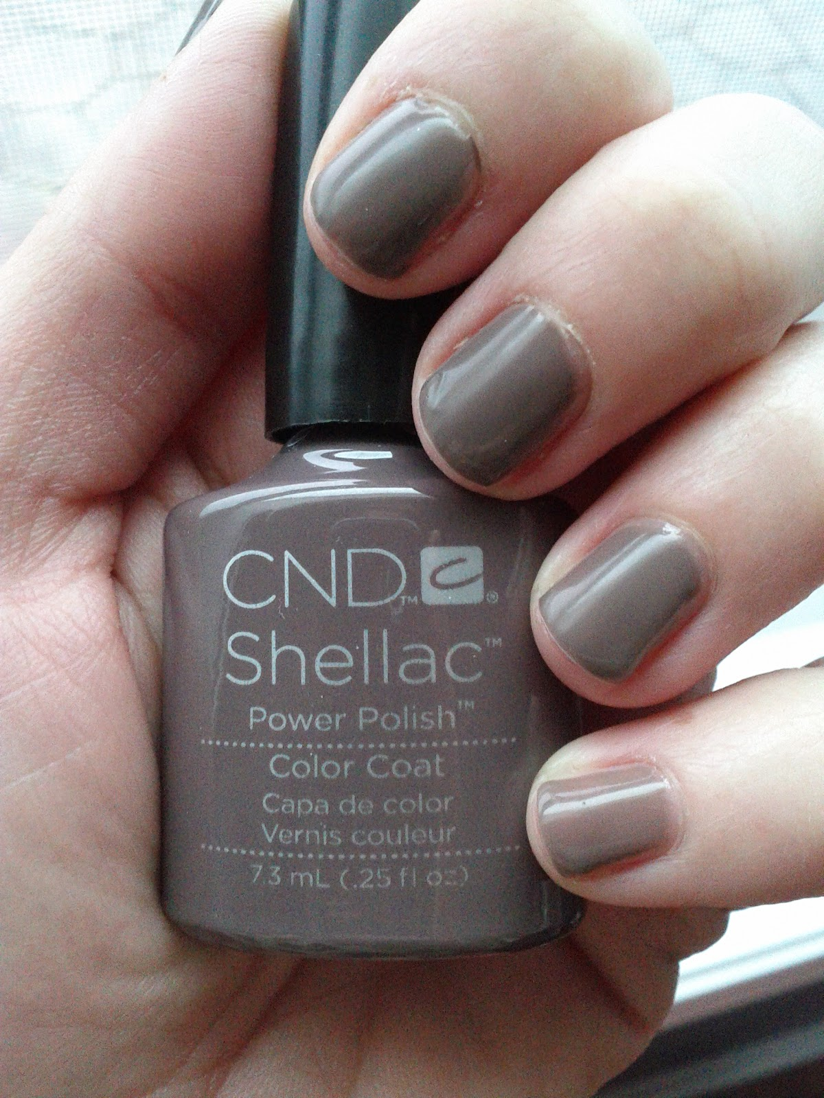 Favorito Lipgloss Break: CND Shellac in Rubble QY87