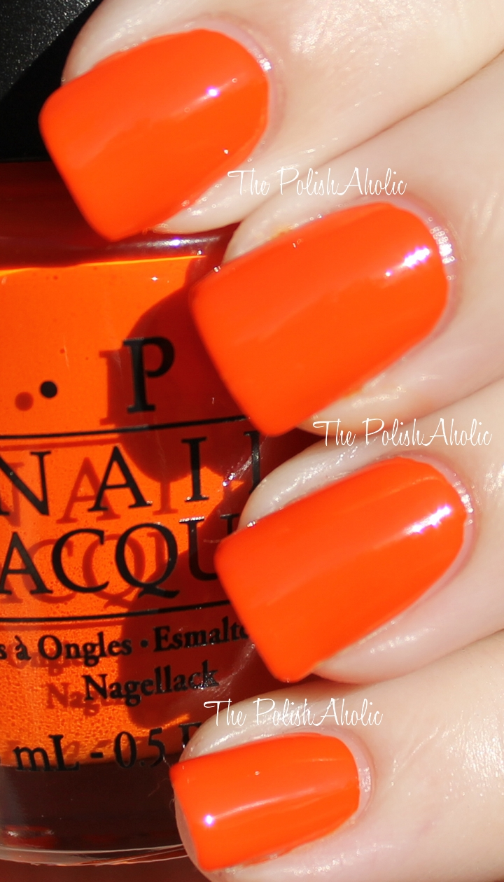 The PolishAholic: OPI Spring 2012 Holland Collection Swatches!