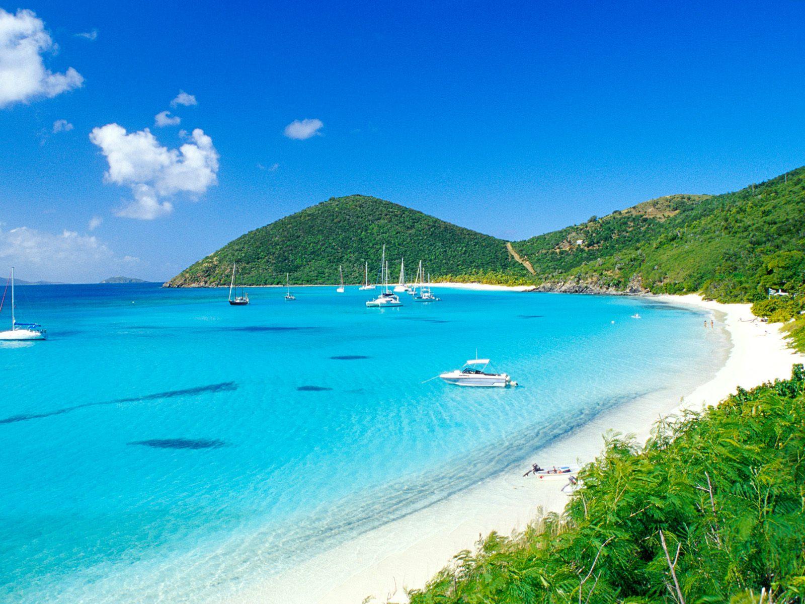 best us virgin island beach