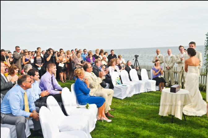 beach wedding cape cod