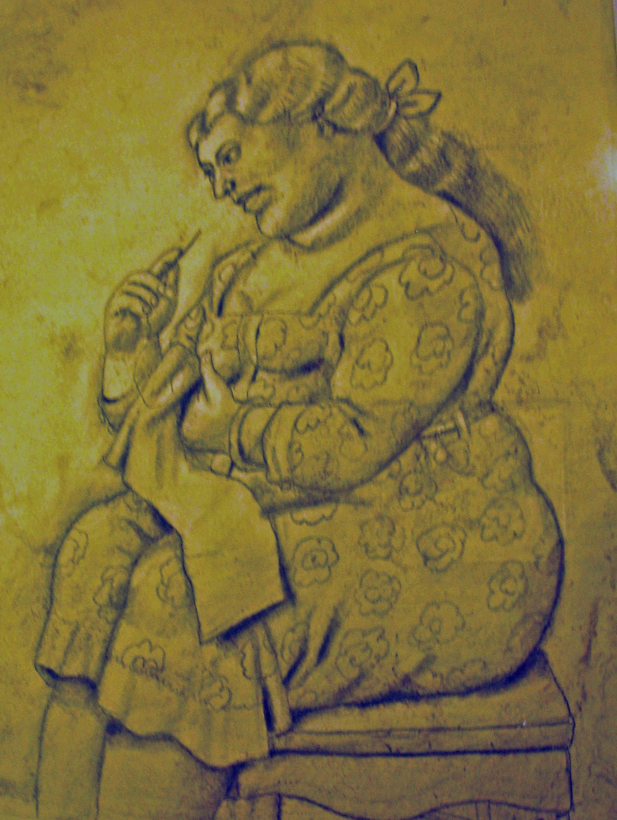 Botero mostra gessi e disegni assisi 2012 legnagoflash - Botero uomo in bagno ...