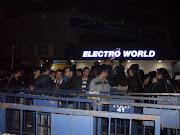 Teknoloji devi Electro World,Türkiye çapında 25. ve franchise olarak 9. . (sdc )