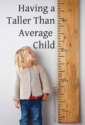 Having a Taller Than Average Child