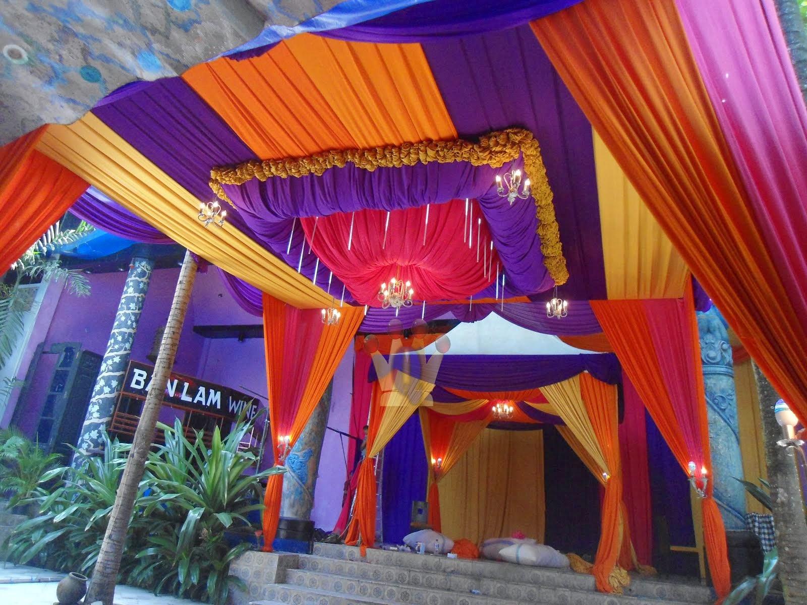 Dekorasi di Melati Resto Hotel Tugu Malang