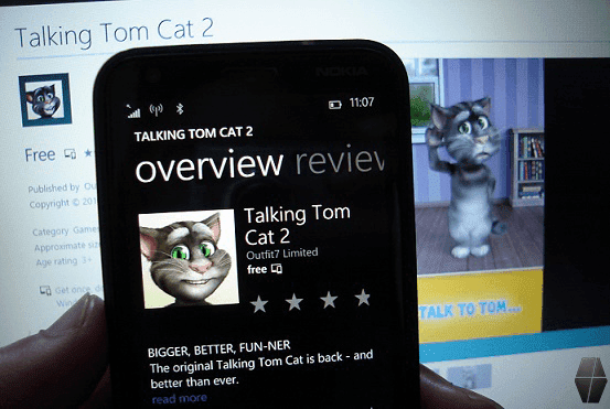 Talking Tom Cat 2 on Windows