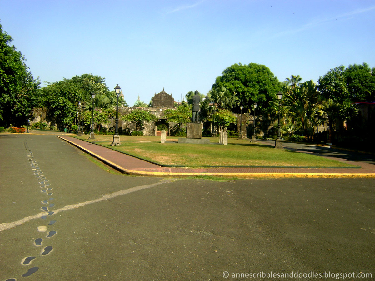 Fort Santiago, Intramuros: Rizal's Footsteps