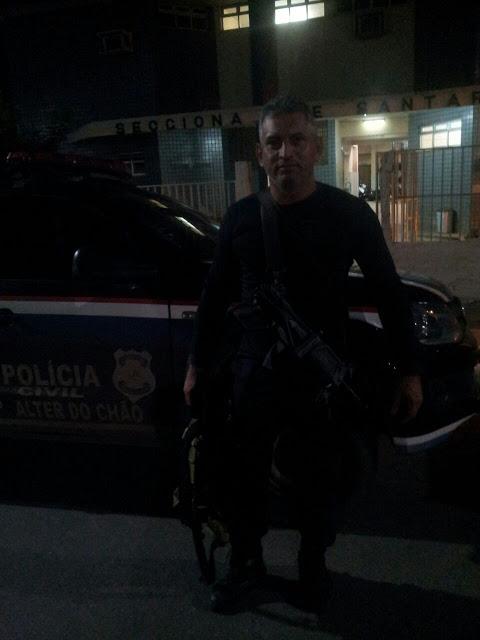 Em clima de suspense Policia Civil efetua operação na cidade de Santarém.