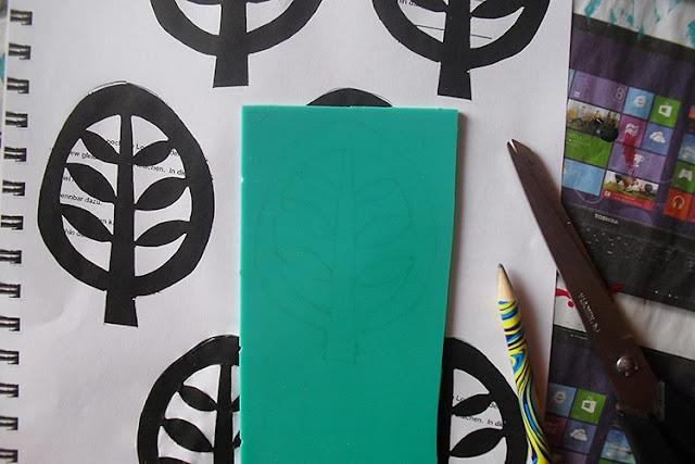 Motiv auf Kunststoffplatte übertragen