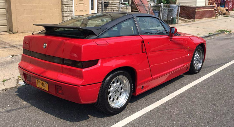 There's A 1990 Alfa Romeo SZ For Sale In New York
