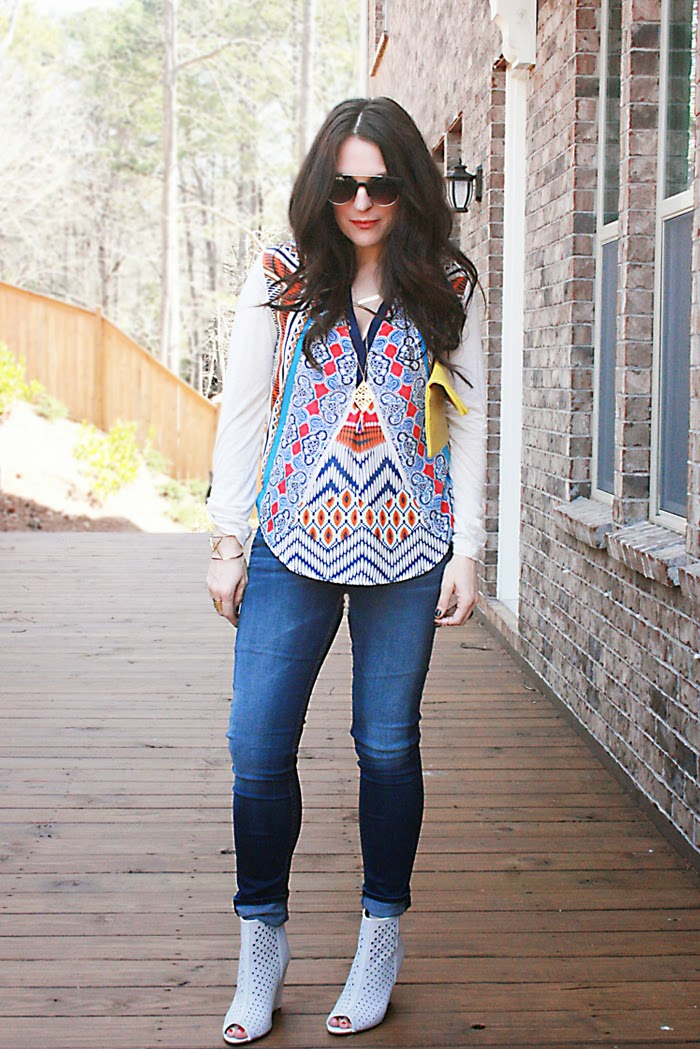 spring style watch with peasant tops and blouses